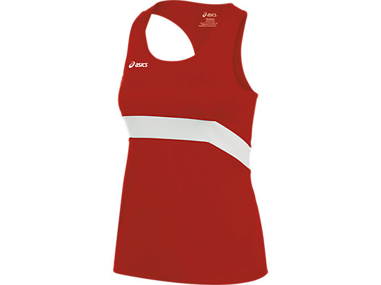 Break Through Singlet Red/White 3