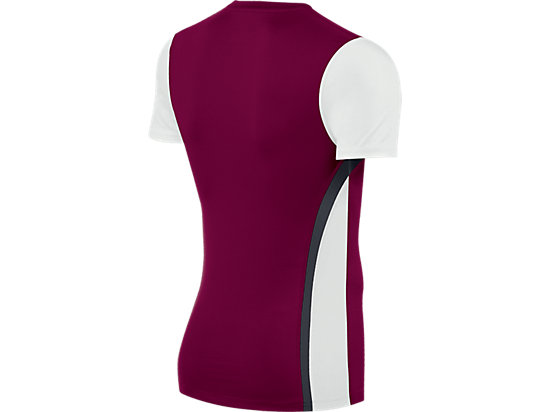 Enduro Short Sleeve Cardinal/White 7