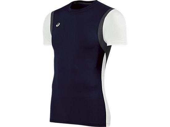 Enduro Short Sleeve Navy/White 3