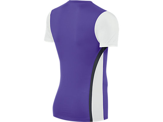 Enduro Short Sleeve Purple/White 7