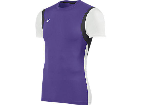 Enduro Short Sleeve Purple/White 3
