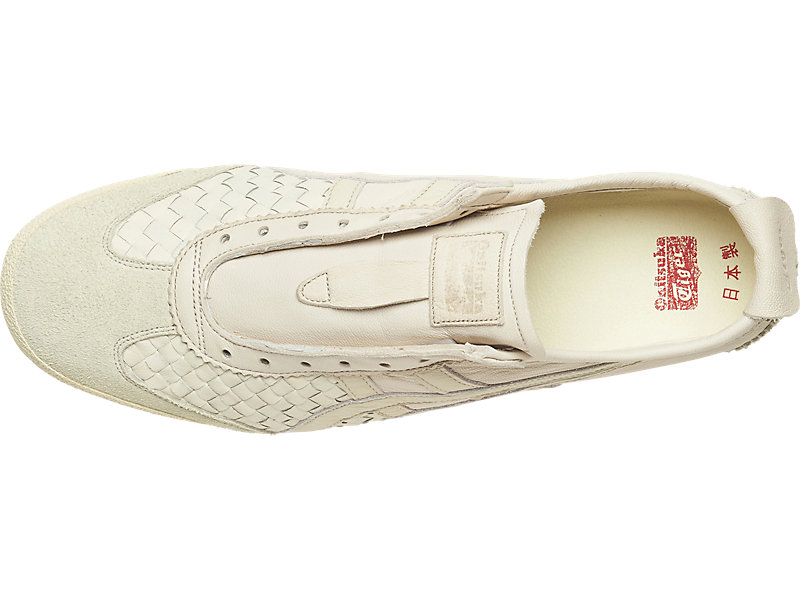 Mexico 66 Slip-On Deluxe White / White 9 TP