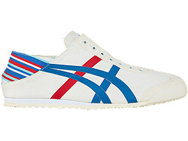 Right side view of MEXICO 66 PARATY, WHITE / BLUE