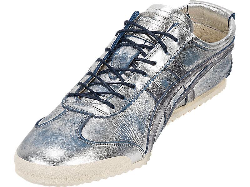 Mexico 66 Deluxe Silver/Navy Blue 13 FL