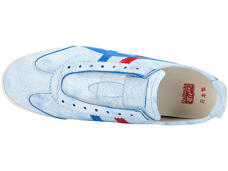 Mexico 66 Slip-On Deluxe White / Tricolour 21 TP
