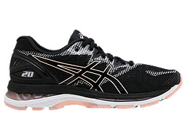 LADY GEL-NIMBUS®20, BLACK/BLACK
