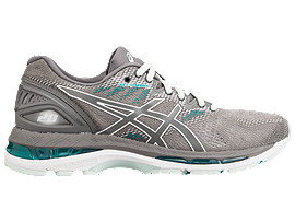 LADY GEL-NIMBUS 20-wide, SILVER/DARK GREY