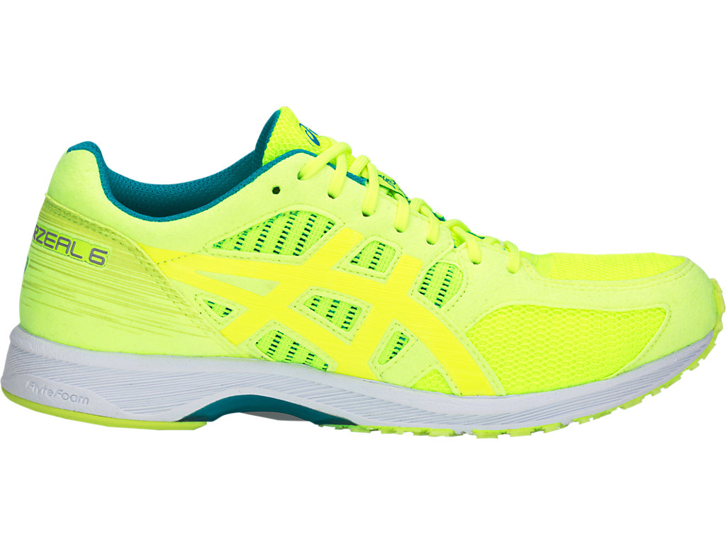 【ASICS/アシックス】 LADY TARTHERZEAL 6 FLASH YELLOW レディース_TJR850