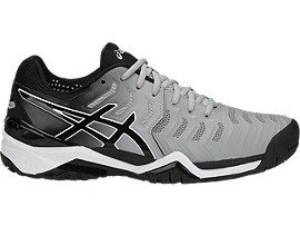 GEL-RESOLUTION® 7 OC, GLACIER GREY/BLACK/DARK GREY