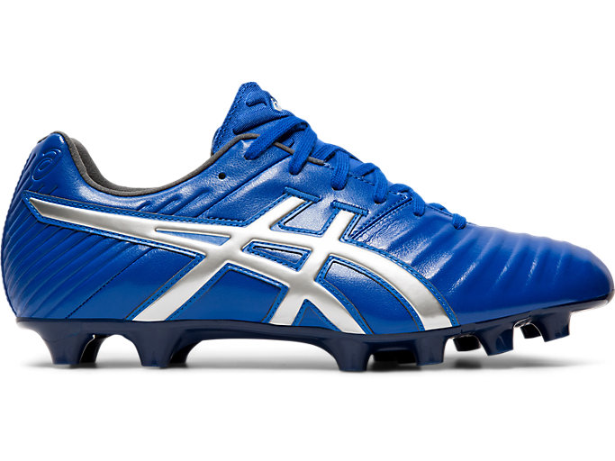 Right side view of DS LIGHT 3-wide, ASICS BLUE/SILVER
