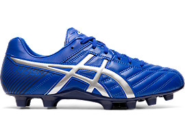 Right side view of DS LIGHT WB 2, ASICS BLUE/SILVER