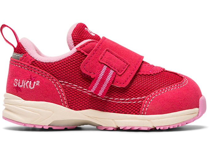 Right side view of GD.RUNNER®BABY LOⅡ, ピンク