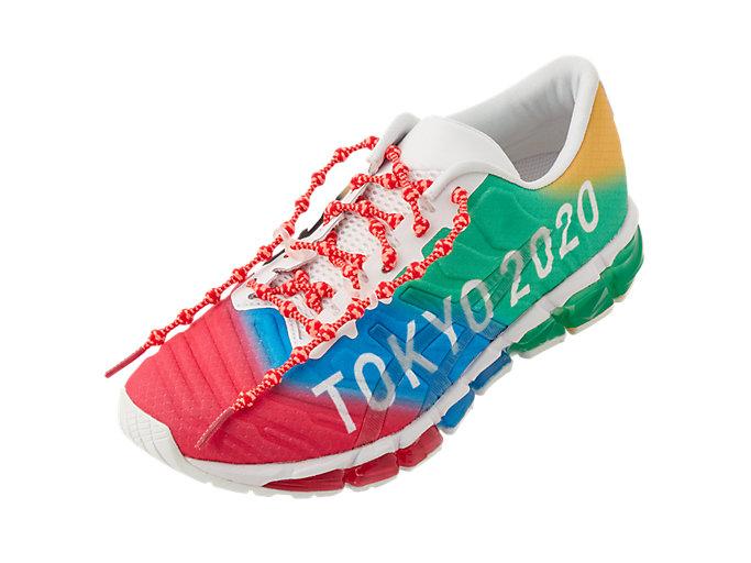 Alternative image view of シューレース(東京2020オリンピックエンブレム), サンライズレッド