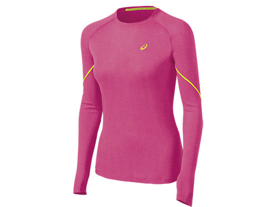 Speed Long Sleeve Winter Layer Magenta Heather 3