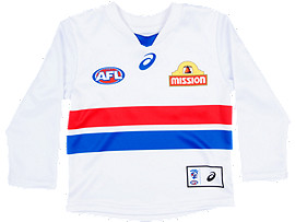 OFFICIAL WESTERN BULLDOGS LONG SLEEVED CLASH GUERNSEY - INFANTS