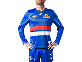 WESTERN BULLDOGS REPLICA HOME GUERNSEY - LONG SLEEVED