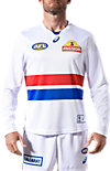 WESTERN BULLDOGS REPLICA CLASH GUERNSEY - LONG SLEEVED