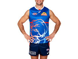 OFFICIAL WESTERN BULLDOGS TRAINING GUERNSEY (ROYAL)