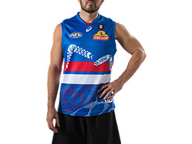 WESTERN BULLDOGS INDIGENOUS GUERNSEY