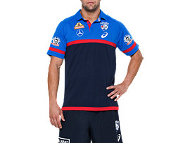 OFFICIAL WESTERN BULLDOGS MEDIA POLO