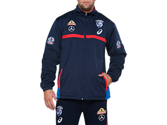 1626a0ee1c23 OFFICIAL WESTERN BULLDOGS TRAVEL JACKET