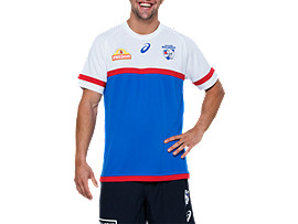 OFFICIAL WESTERN BULLDOGS TRAINING TEE (ROYAL)