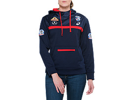 OFFICIAL WESTERN BULLDOGS TRAINING HOODIE - WOMENS