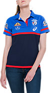 OFFICIAL WESTERN BULLDOGS MEDIA POLO - WOMENS