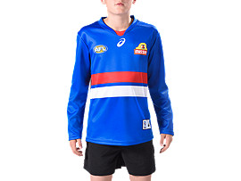 WESTERN BULLDOGS REPLICA HOME GUERNSEY - YOUTH LONG SLEEVED