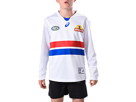 WESTERN BULLDOGS REPLICA CLASH GUERNSEY - YOUTH LONG SLEEVED