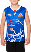 OFFICIAL WESTERN BULLDOGS TRAINING GUERNSEY - YOUTH (ROYAL)