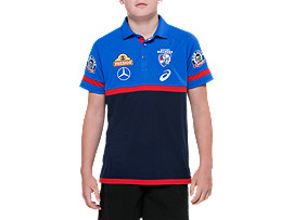 OFFICIAL WESTERN BULLDOGS MEDIA POLO - YOUTH