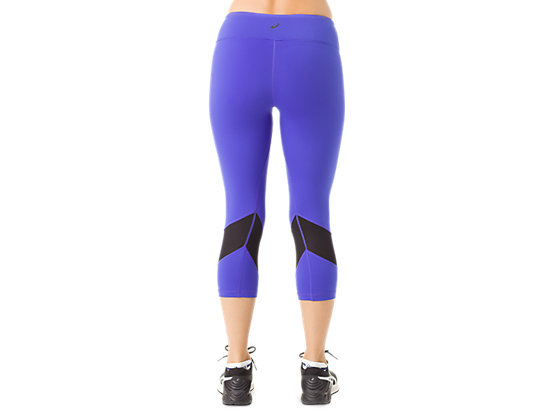 Maya Kayly Mesh Capri Royal Blue/Black 7