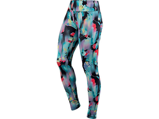 Printed Tight Inkblot Floral 3