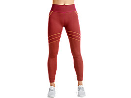 Front Top view of Seamless Legging