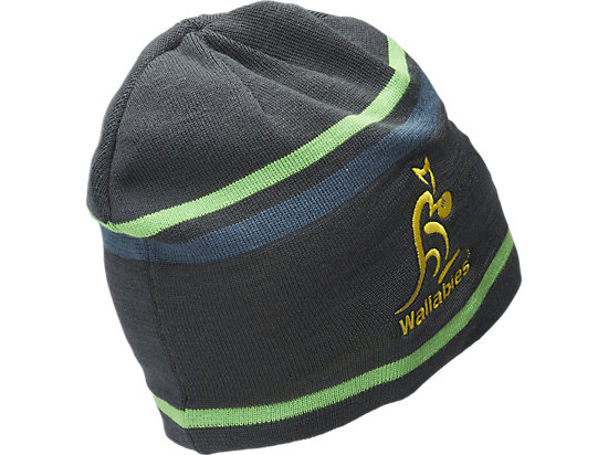WALLABIES 2016 TRAINING BEANIE CHARCOAL 7