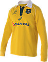 WALLABIES 2016 TRADITIONAL LONG SLEEVE JERSEY
