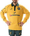 WALLABIES TRADITIONAL JERSEY - L/S