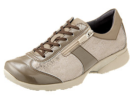 Right side view of PEDALA WALKING SHOES 2E, TAUPE GREY