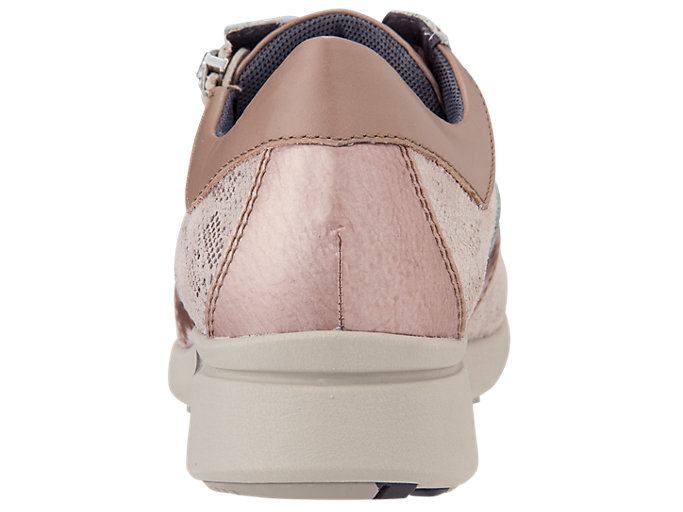 Back view of PEDALA WALKING SHOES 2E, NUDE
