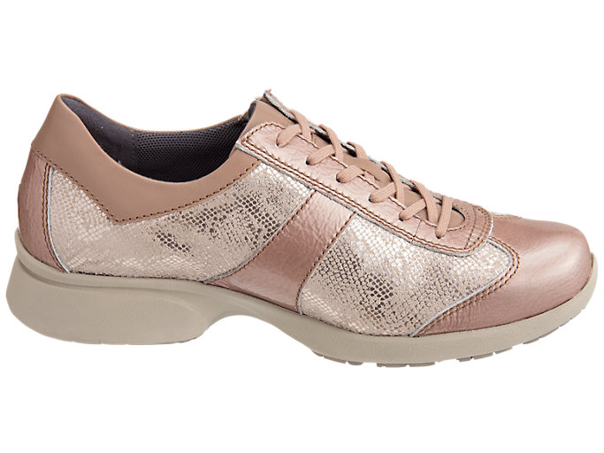 Front Left view of PEDALA WALKING SHOES 2E, NUDE