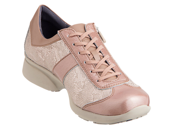 Front Right view of PEDALA WALKING SHOES 2E, NUDE