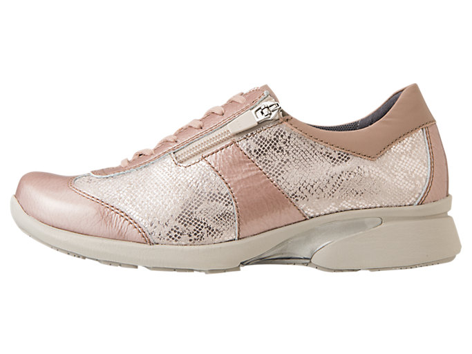 Left side view of PEDALA WALKING SHOES 2E, NUDE