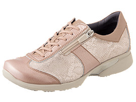 Right side view of PEDALA WALKING SHOES 2E, NUDE