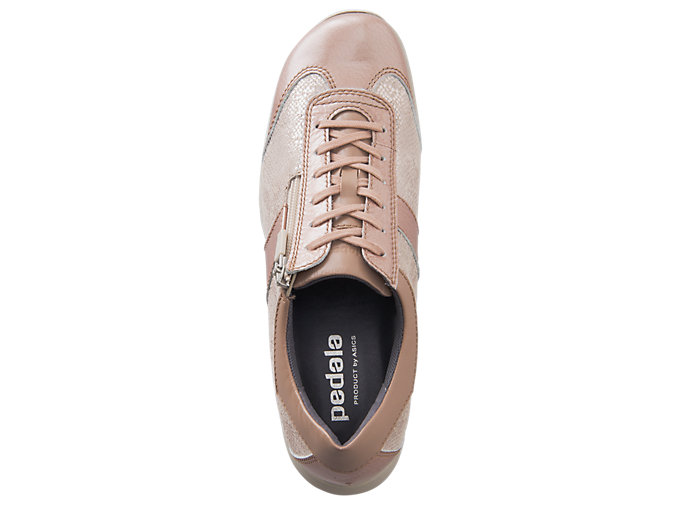 Top view of PEDALA WALKING SHOES 2E, NUDE