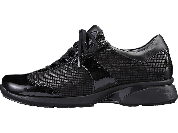 Left side view of PEDALA WALKING SHOES 2E, ブラック