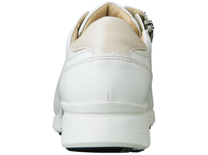 Back view of PEDALA WALKING SHOES 2E, WHITE