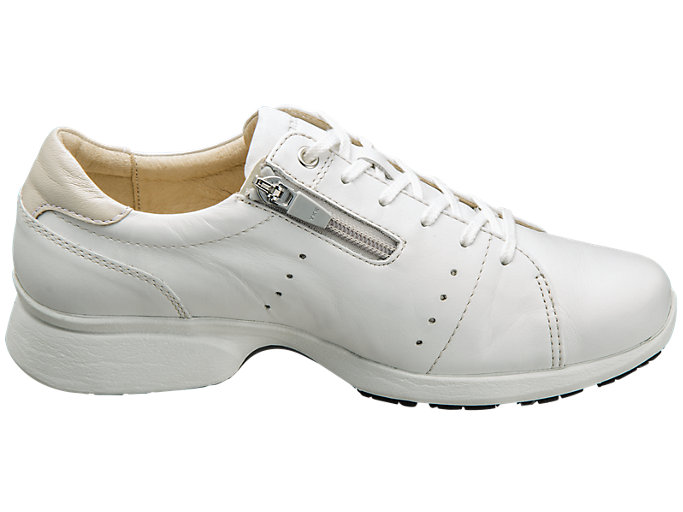 Front Left view of PEDALA WALKING SHOES 2E, WHITE