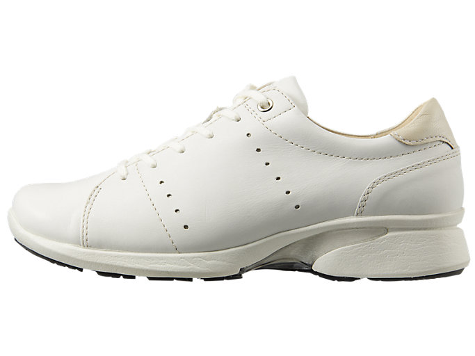 Left side view of PEDALA WALKING SHOES 2E, WHITE