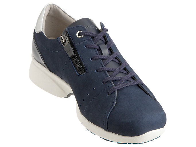 Front Right view of PEDALA WALKING SHOES 2E, DEEP OCEAN